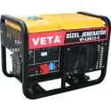 Veta VT-LDG12-3 Dizel Trifaze Jeneratör