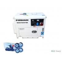 Sumec Firman SDG7000TSE 6,3 kVa Trifaze Jeneratör