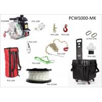 Portatif Vinç PCW5000 Çok Amaçlı Multi Set