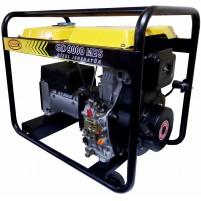 Kamax GD 9000 MES Monofaze Marşlı 9 kVa Jeneratör