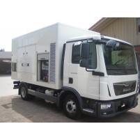 Sumec Firman 115 kVa Araç Üstü Kiralık Jeneratör