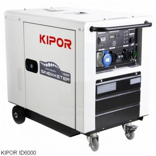 Kipor ID6000 Dizel 5.5 kVa İnvertör Jeneratör