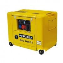 Datsu DDJ 8700 T3 7.5 kVa Otomatik Trifaze Dizel Jeneratör