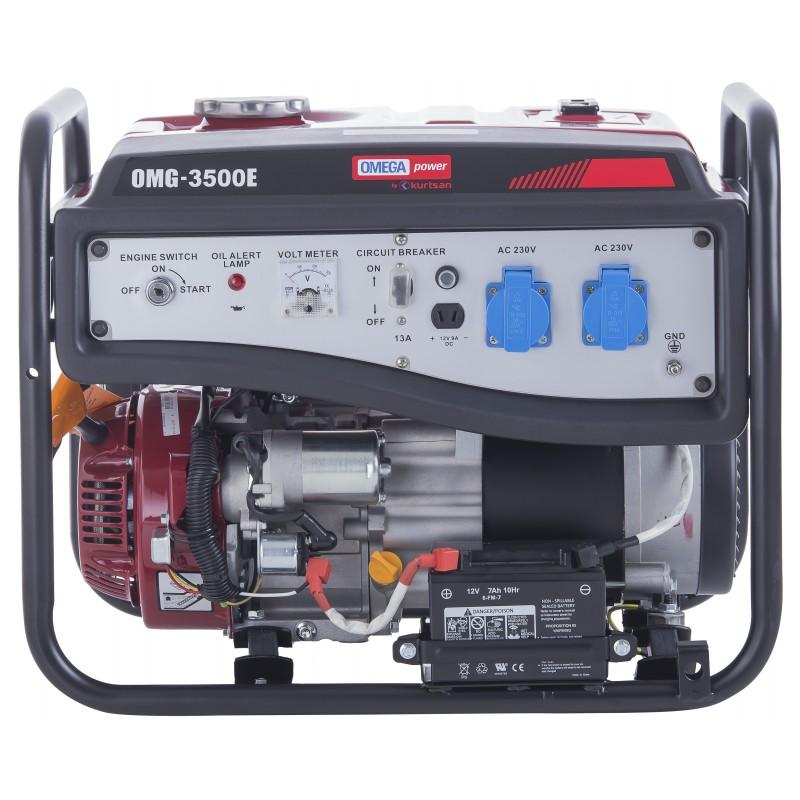 Omega OMG3500E Marşlı 4 kVa Monofaze Jeneratör