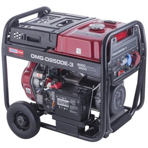 Omega OMG-D9500E-3 Marşlı 8,5 kVa Trifaze Jeneratör