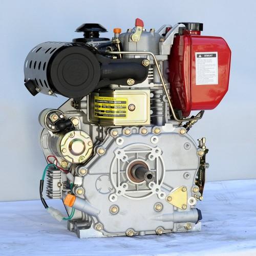 GoldMoto GM186FAE-B 10 Hp Marşlı Krank Mili Kamalı Dizel Motor
