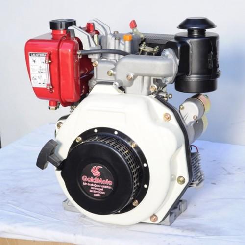 GoldMoto GM178FEN-H Dizel Motor Marşlı 7 Hp Krank Mili Frezeli