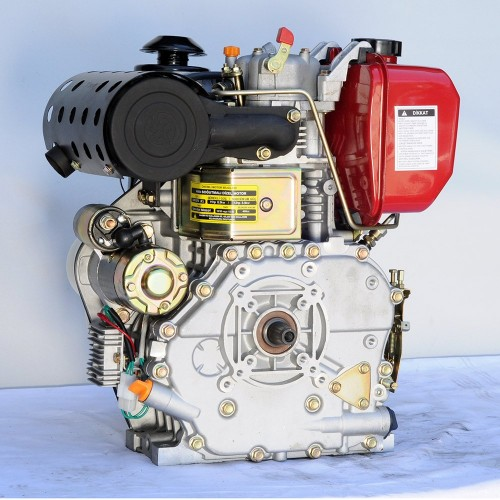 GoldMoto GM186FAE-G2 Dizel Motor 10 Hp Marşlı Krank Mili Konik Kısa