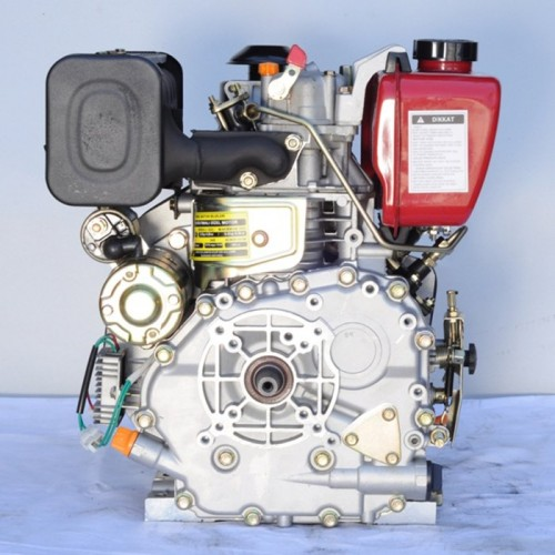 GoldMoto GM178FE-G2 Dizel Motor 7 Hp Marşlı Krank Mili Konik Kısa