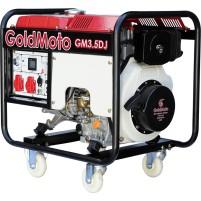 GoldMoto GM3.5DJ Marşlı 4,4 Kva Monofaze Dizel Jeneratör