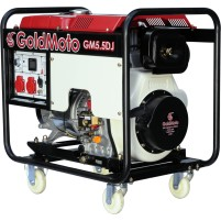 GoldMoto GM5.5DJ Marşlı 6,25 Kva Monofaze Dizel Jeneratör