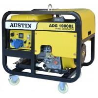 Austin ADG10000E Monofaze 9 kVa Dizel Marşlı Jeneratör