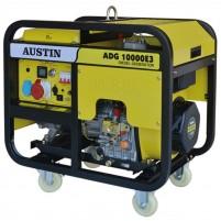 Austin ADG10000E3 Trifaze 9 kVa Dizel Marşlı Jeneratör