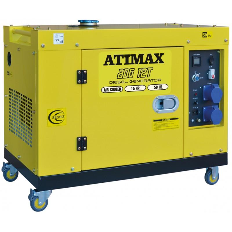 Atimax Austin AD 12 T Dizel Monofaze 11 kVa Jeneratör