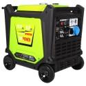 Genpower Gbg 100 Ie 10 Kva Benzinli Marşlı Monofaze Uzaktan Kumandalı Invertör Jeneratör