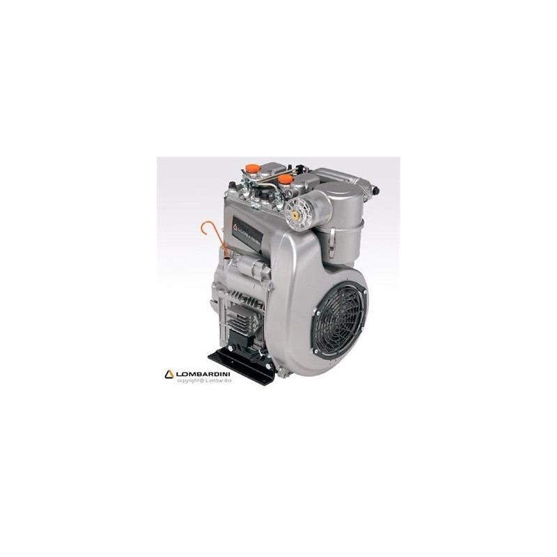 Lombardini 12 LD 477.2 21,5 HP Çift Silindirli Marşlı Dizel Motor