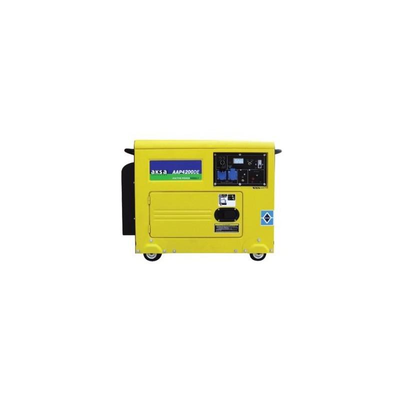 Aksa AAP-4200 DE Dizel Marşlı 4,5 kVa Monofaze Jeneratör