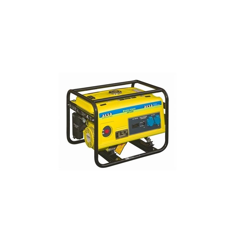 Aksa AAP 3500E Benzinli Marşlı 3,5 kVa Monofaze Jeneratör