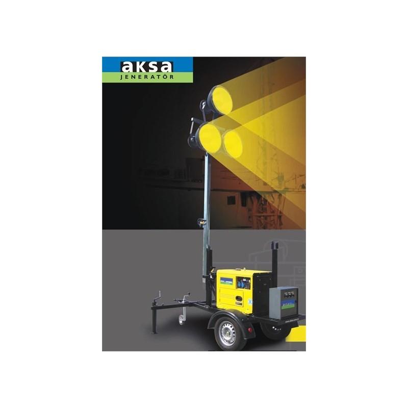 Aksa ALT 4200 D Mobil Aydınlatma Kulesi
