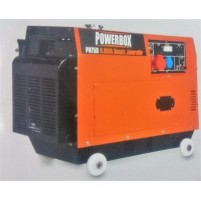Powerbox PD 75S Kabinli Marşlı 7.5 kVa Trifaze Jeneratör