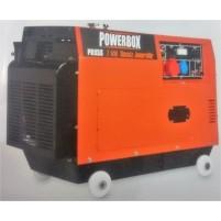 Powerbox PD 85S Dizel Marşlı 8.75 kVa Trifaze Jeneratör