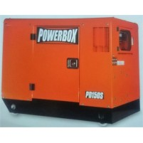 Powerbox PD 150S Dizel Kabinli Marşlı 13.75 kVa Trifaze Jeneratör