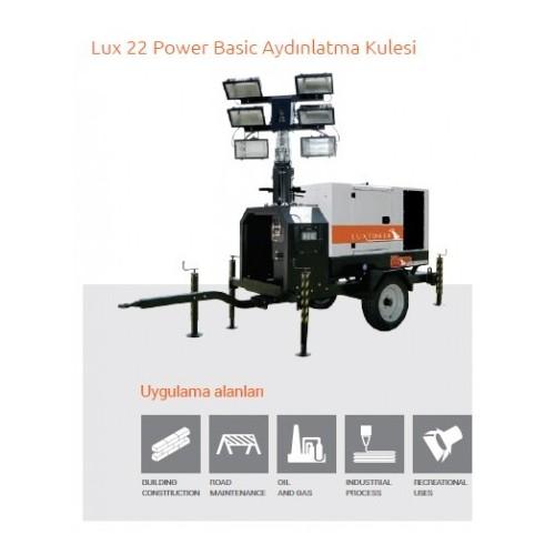 Lux 22 Power Basic Aydınlatma Kulesi