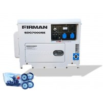Sumec Firman SDG7000E Dizel Marşlı 6,3 kVa Jeneratör